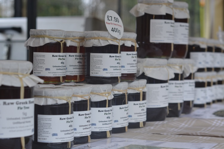 Natural raw Greek honey at The Sidings N21