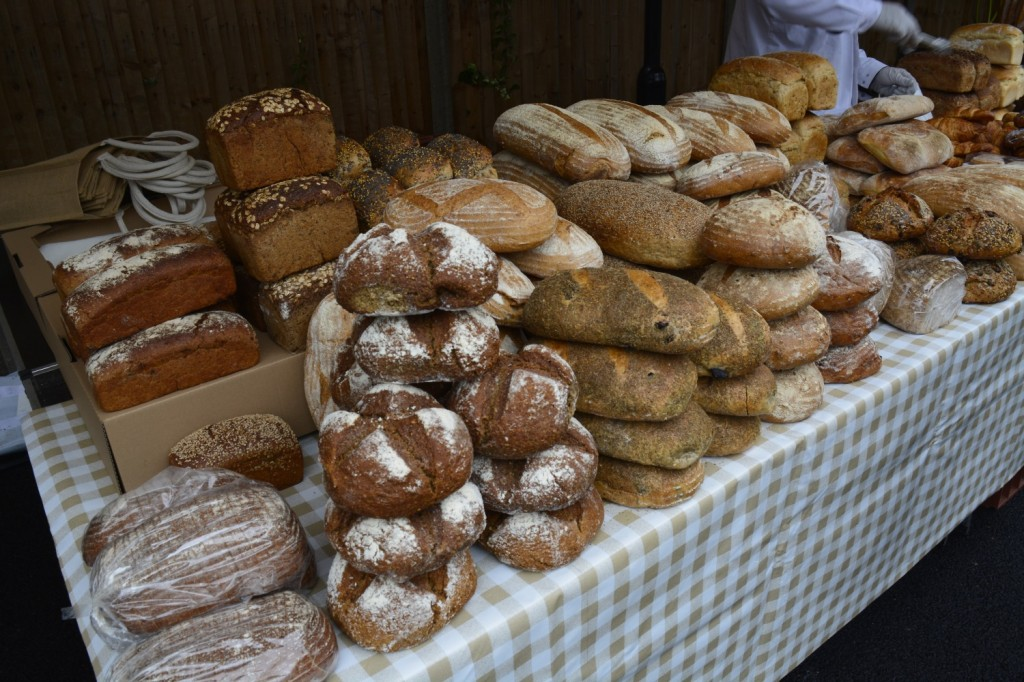 Beautiful fresh bread being sold at The Sidings N21