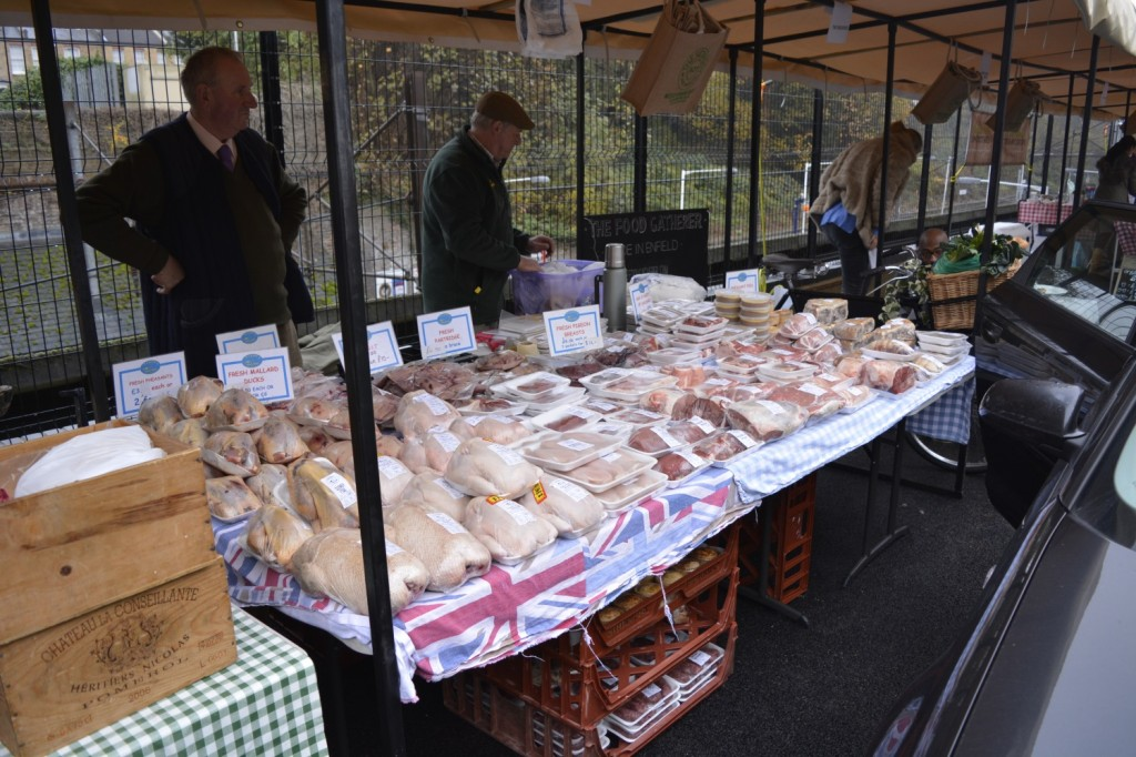 Wonderful fresh, organic poultry and meats at The Sidings N21