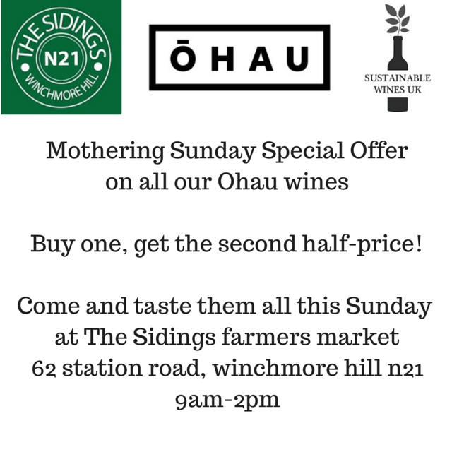 Mothering Sunday Special Offeron all our