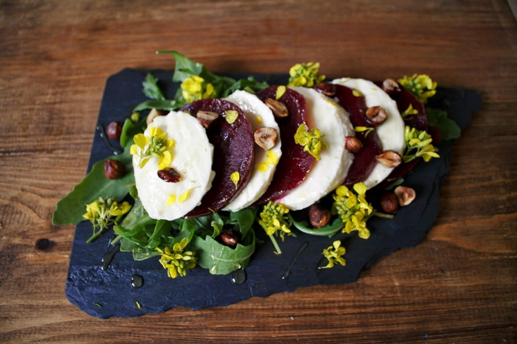 Beetroot and Mozzarella Salad1