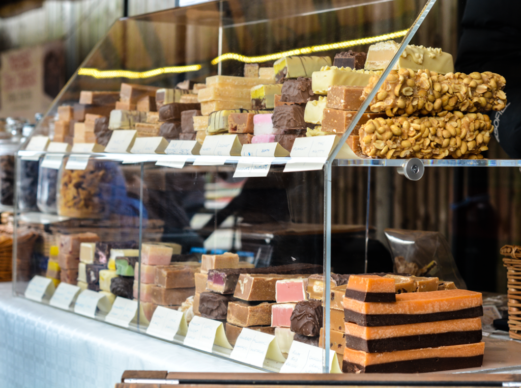Treat Time Purveyor of Fudge and Confectionery at The Sidings N21